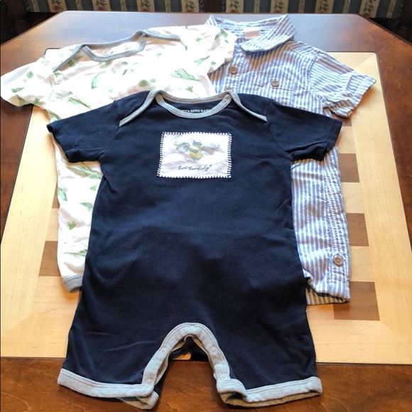 04d18f751 Burt s Bees Baby One Pieces